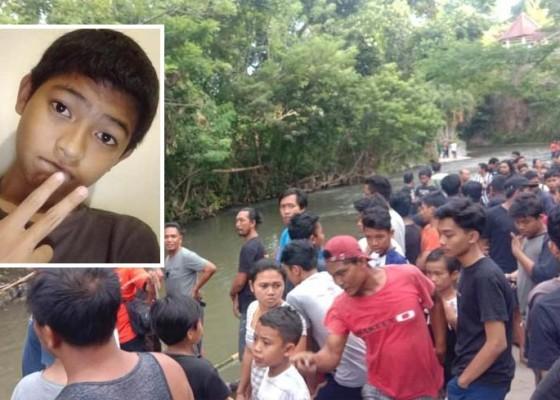 Nusabali.com - siswa-smp-tewas-tenggelam-saat-mandi-di-tukad-gunung-apuan
