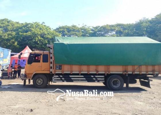 Nusabali.com - odol-sasar-terminal-pesiapan-temukan-truk-kelebihan-muatan