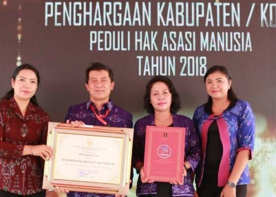 Nusabali.com - klungkung-5-kali-dinobatkan-jadi-kabupaten-peduli-ham