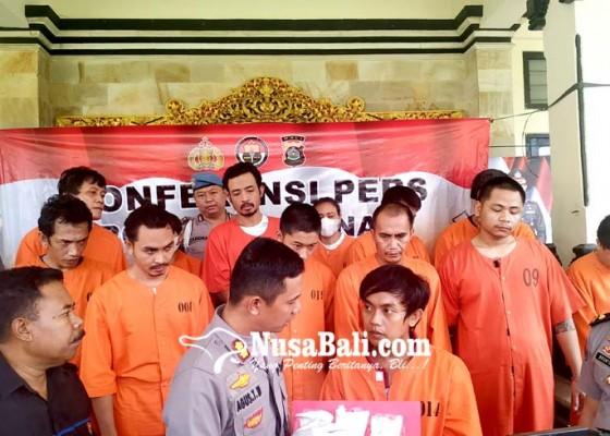 Nusabali.com - belasan-pelaku-terjaring-operasi-pekat-satu-pelaku-karena-rebutan-janda