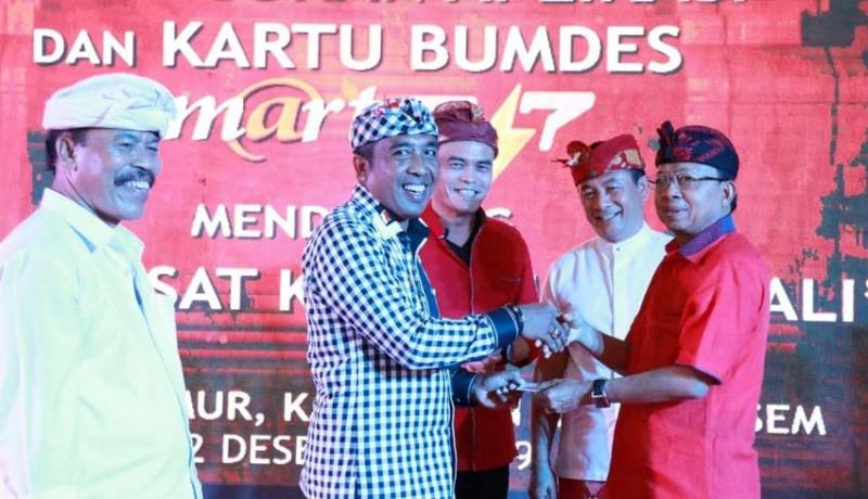 www.nusabali.com-gubernur-koster-luncurkan-kartu-bumdes-multifungsi