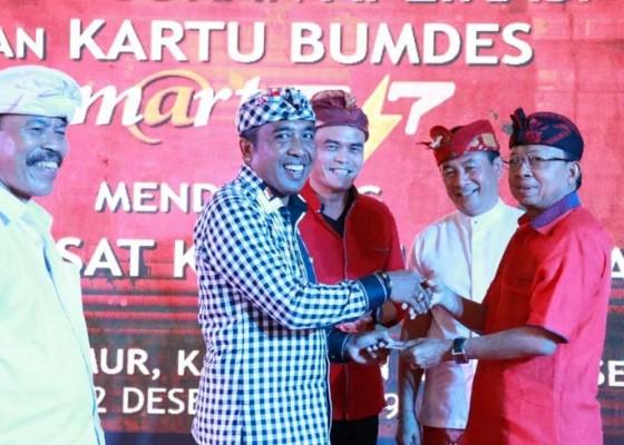 Nusabali.com - gubernur-koster-luncurkan-kartu-bumdes-multifungsi