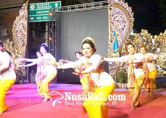 Nusabali.com - pesta-rakyat-semarapura-klod-kangin-semarak