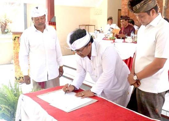 Nusabali.com - bmda-jembrana-wajibkan-pemilihan-bendesa-secara-musyawarah-mufakat