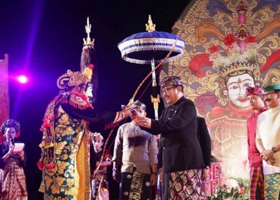Nusabali.com - wagub-cok-ace-buka-belayu-festival-ii