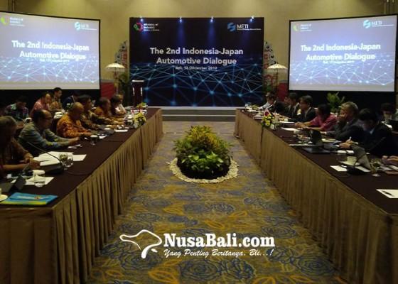 Nusabali.com - gandeng-jepang-kemenperin-gelar-dialog-pengembangan-kendaraan-listrik