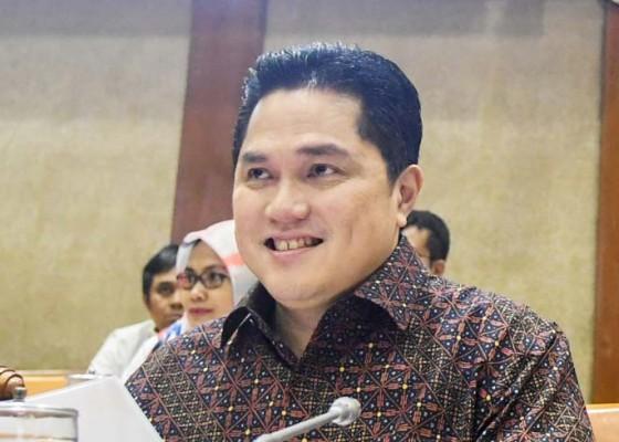 Nusabali.com - pt-garuda-tauberes-indonesia-bikin-erick-thohir-tertawa