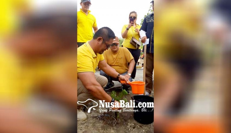www.nusabali.com-golkar-denpasar-panas-mesin-jelang-pilkada-2020