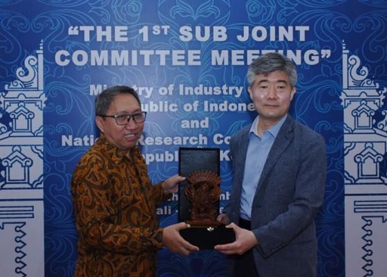 Nusabali.com - indonesia-korea-selatan-perkuat-kerja-sama-manufaktur