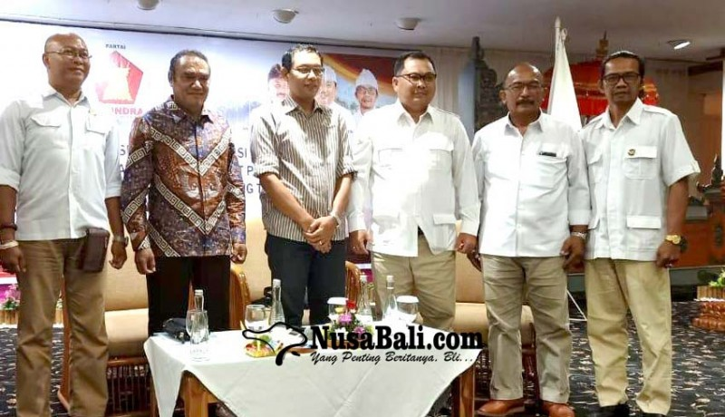 www.nusabali.com-gerindra-geber-konsolidasi-jelang-pilkada