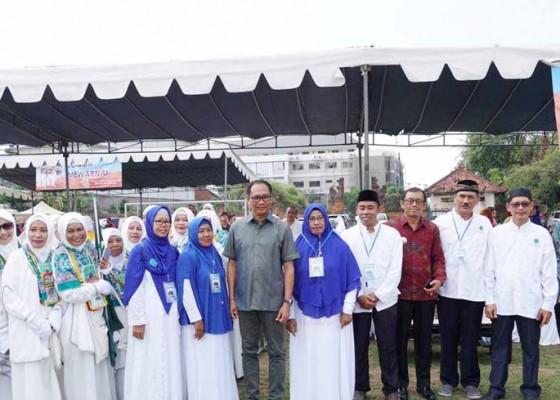 Nusabali.com - ibu-ibu-majelis-taklim-ikuti-lomba-manasik-haji-2019