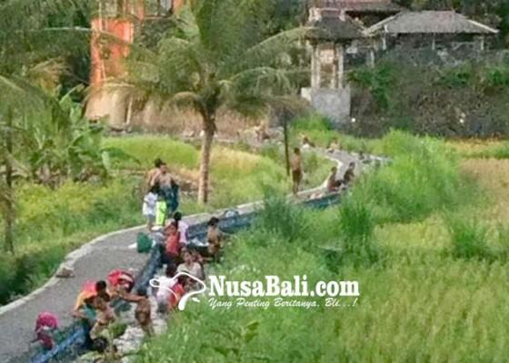 Nusabali.com - tradisi-mandi-di-sungai