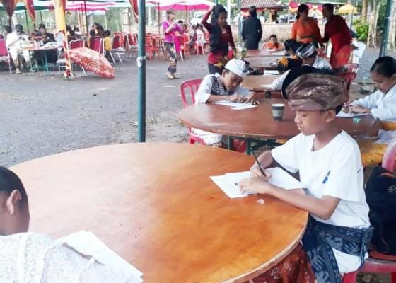 Nusabali.com - lomba-nandusin-meriahkan-festival-megati