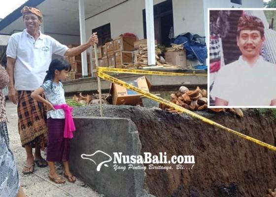 Nusabali.com - tembok-roboh-saat-mebat-1-tewas-7-luka