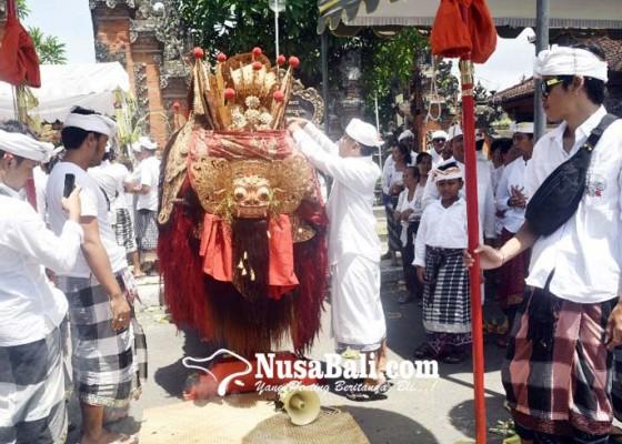 Nusabali.com - desa-adat-kuta-gelar-upacara-nangluk-merana