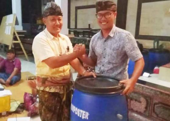 Nusabali.com - serahkan-tong-edan-untuk-olah-sampah-jadi-pupuk
