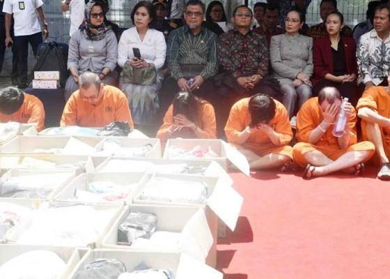 Nusabali.com - setahun-bea-cukai-ungkap-74-kasus-penyelundupan-narkoba