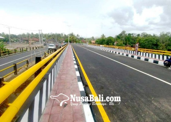 Nusabali.com - duplikasi-jembatan-tukadaya-dibuka-sebelum-libur-nataru