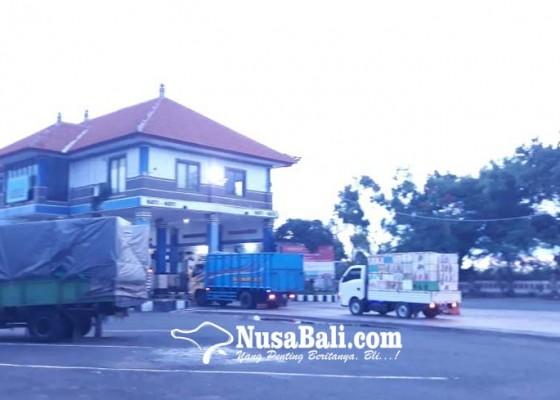 Nusabali.com - libur-nataru-mobil-angkut-barang-dilarang-masuk-bali-selama-7-hari