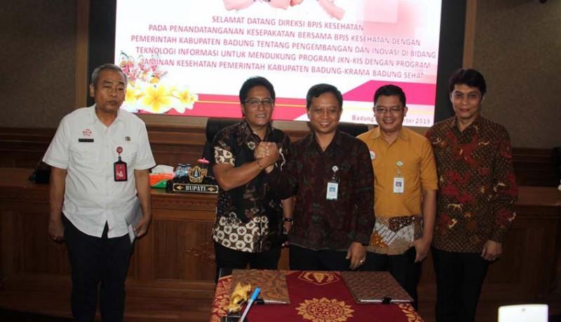 www.nusabali.com-pemkab-badung-bpjs-kesehatan-teken-mou-pengembangan-dan-inovasi-ti