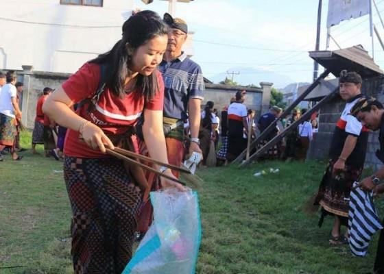 Nusabali.com - pemkab-gelar-resik-sampah-plastik