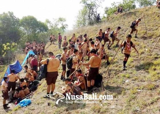 Nusabali.com - kamabigus-lantik-246-pramuka-smpn-1-manggis