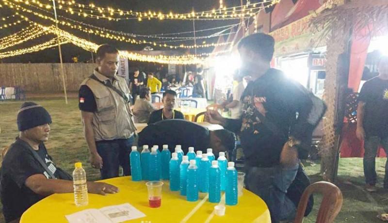 www.nusabali.com-polisi-amankan-miras-di-arena-konser