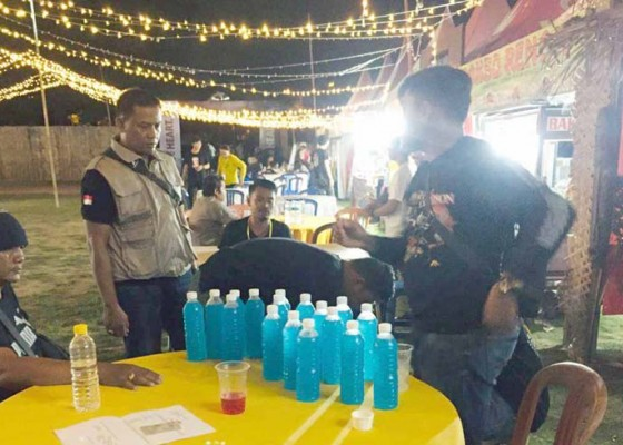 Nusabali.com - polisi-amankan-miras-di-arena-konser