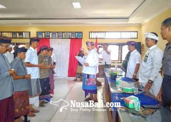 Nusabali.com - ketua-mda-karangasem-kukuhkan-pengurus-mda-rendang