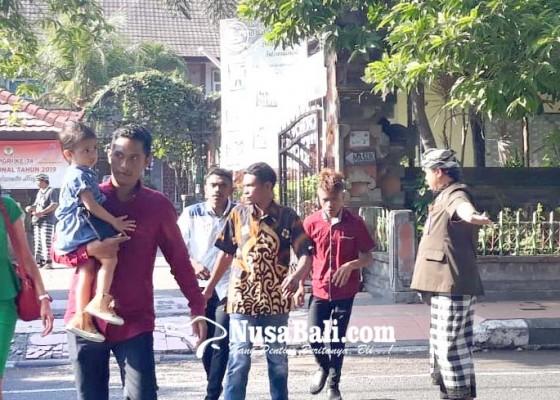 Nusabali.com - belasan-pecalang-amankan-perayaan-natal