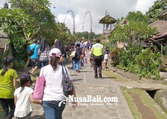 Nusabali.com - target-kunjungan-ke-penglipuran-terlampaui