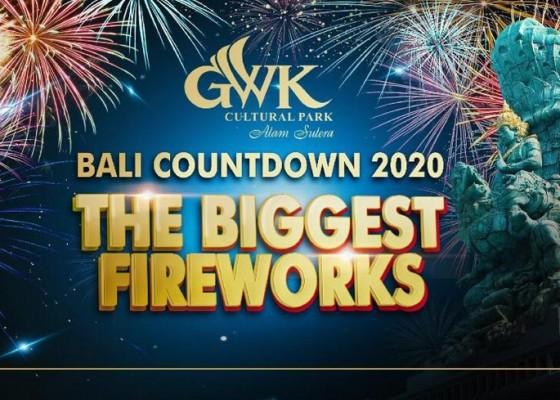 Nusabali.com - sambut-tahun-baru-2020-gwk-gelar-festival-kembang-api-terbesar