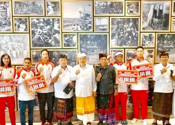 Nusabali.com - denpasar-beri-bonus-peraih-medali-sea-games