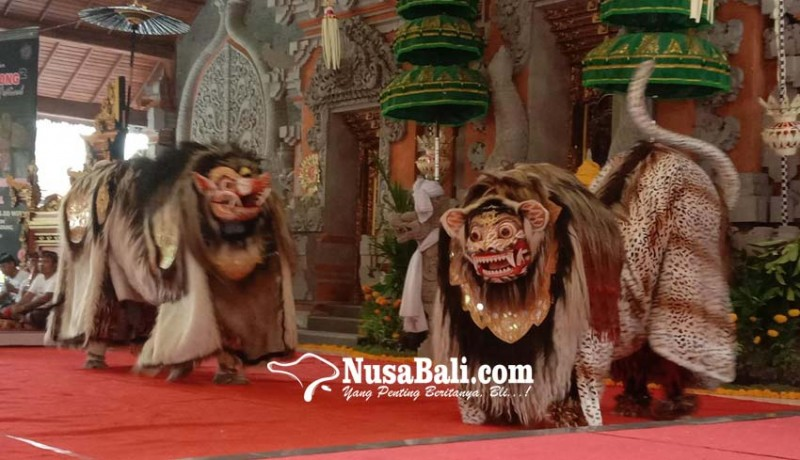 www.nusabali.com-antusias-tinggi-lestarikan-bapang-barong-dan-makendang-tunggal