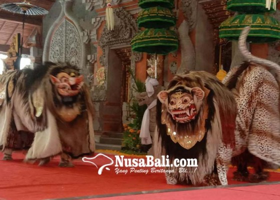 Nusabali.com - antusias-tinggi-lestarikan-bapang-barong-dan-makendang-tunggal