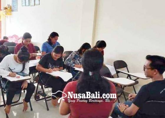 Nusabali.com - amerta-yulia-satu-satunya-pkbm-menggelar-ekstra-pramuka