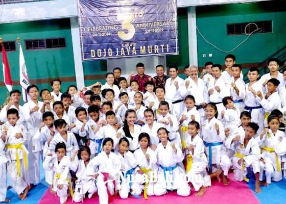 Nusabali.com - dojo-jaya-murti-gelar-ultah-ketiga