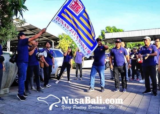 Nusabali.com - hut-ke-41-pt-tunas-jaya-sanur-gelar-aksi-bakti-sosial