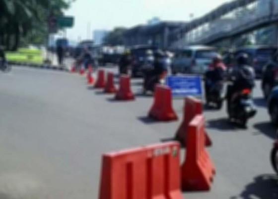 Nusabali.com - besok-lalin-ke-kawasan-pantai-kuta-ditutup