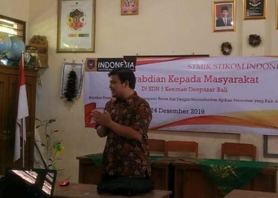 Nusabali.com - aksi-stiki-peduli-tingkatkan-kualitas-penyampaian-bahan-ajar-di-sd-negeri-1-kesiman