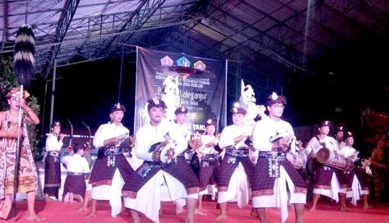 www.nusabali.com-desa-sumerta-kelod-gelar-parade-baleganjur
