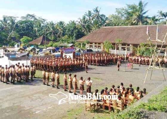 Nusabali.com - 135-anggota-pramuka-smpn-3-bebandem-dilantik