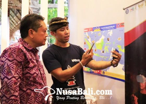 Nusabali.com - musea-bali-app-dan-stiker-augmented-reality-diperkenalkan-di-denfest