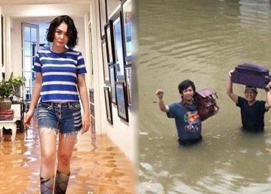 Nusabali.com - rumah-sejumlah-artis-kebanjiran
