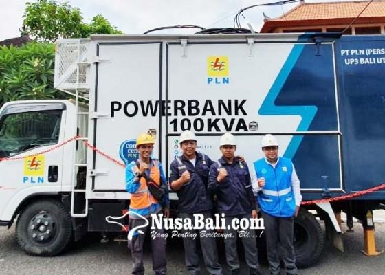 Nusabali.com - mobil-ups-pln-dukung-program-bali-clean-and-green
