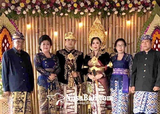 Nusabali.com - resepsi-perkawinan-putri-bupati-karangasem