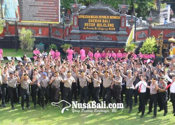 Nusabali.com - tahun-baru-96-personel-polres-buleleng-naik-pangkat
