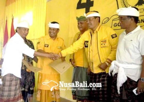 Nusabali.com - dukungan-menguat-tunggu-rekomendasi-dpp-golkar