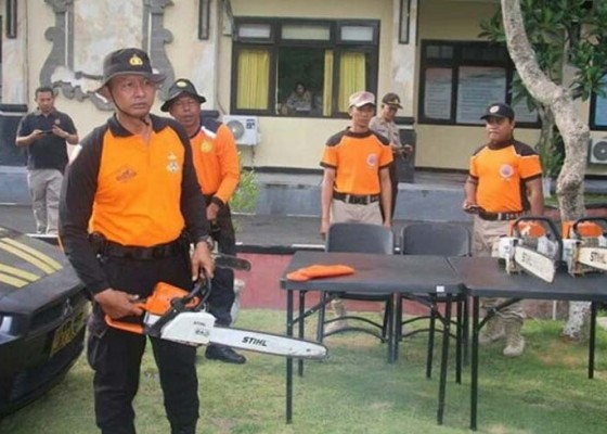 Nusabali.com - aparat-gabungan-bangun-posko-bencana