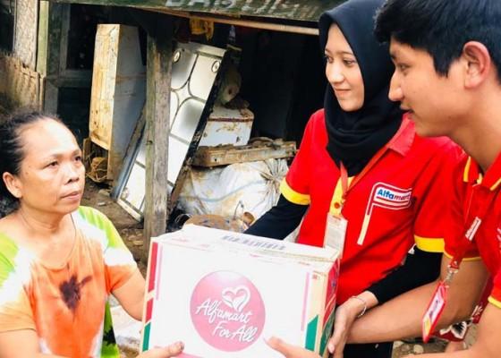 Nusabali.com - alfamart-alirkan-bantuan-untuk-korban-banjir